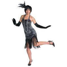 Flirty Flapper Adult Costume Gangster Costumes 0eb0803f19e5