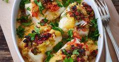 Kabeljau aus dem Ofen ist ein Rezept mit frischen Zutaten aus der Kategorie Fruchtgemüse. Probieren Sie dieses und weitere Rezepte von EAT SMARTER!