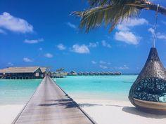 Maldives. Lux South Ari Atoll Maldives Holidays, Outdoor Furniture, Outdoor Decor, Villa, Luxury, Beach, Water, Travel, Gripe Water