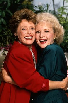 Blanche and Rose from The Golden Girls