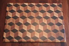 End grain cutting board end grain cutting board, diy cutting board, wood End Grain Cutting Board, Diy Cutting Board, Wood Cutting Boards, Wood Boards, Woodworking Box, Woodworking Projects Plans, Layout Design, Wood Design, Cool Things To Build