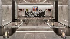 The exclusive Four Seasons Hotel in Moscow has chosen Trend mosaics in artistic technique for its SPA area. - L'esclusivo Four Seasons Hotel di Mosca per la propria SPA ha scelto i mosaici Trend in tecnica artistica.