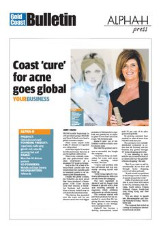 The amazing Michelle Doherty took over the Gold Coast Bulletin!