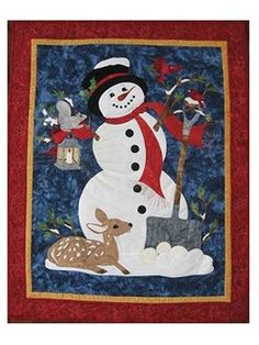 Frosty Friends Quilt Pattern