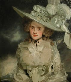 """""""Mary Boteler of Eastry, Kent"""" by John Hoppner, 1786. From the collections of the Cecil Higgins Art Gallery and Museum."""