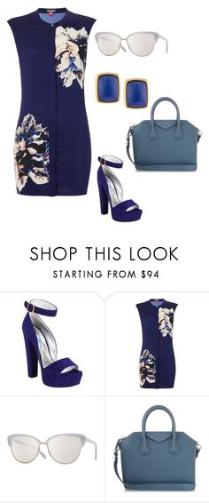 """""""J"""" by jelenadjordjevic-1 ❤ liked on Polyvore featuring Prada, Vince Camuto, Oliver Peoples, Givenchy and NAKAMOL"""