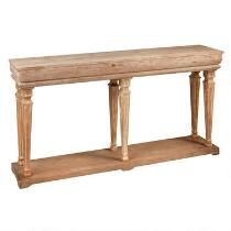 Benjamin Driftwood Console Table