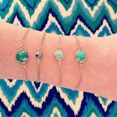 Dainty Bracelet - Various stones