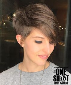 Uneven+Tapered+Pixie+for+Fine+Hair