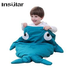 32.00$  Watch more here - http://aihnq.worlditems.win/all/product.php?id=32788101318 - New Arrival Cotton Shark Baby Sleeping Bag Children Sleeping Sack Warm Baby Blanket Warm Swaddle Children Quilt(1-3 Years Old)
