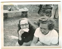 """Picnic"" ... found photograph"