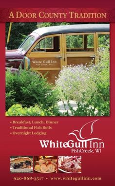 White Gull Inn - Fish Creek - Bed and Breakfast - www.DoorCountyToday.com.