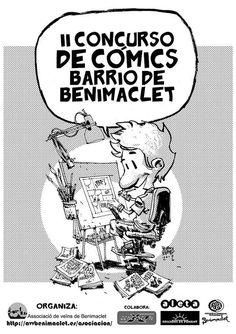 II Concurso de cómic Barrio de Benimaclet
