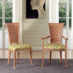 """""""Mona Wood Dining Chair"""" Mona wood dining chair and arm chair features a solid wood frame with a cross hatch design on the back. Please contact us for pricing Arm Chairs, Dining Room Chairs, Accent Chairs, Restaurant Furniture, Bar Furniture, Funky Chairs, Bed Design, Solid Wood, Frame"""