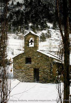 Esglesia Sant Andreu de Prat del Campanar, Arinsal, Vallnord, Andorra, Pyrenees