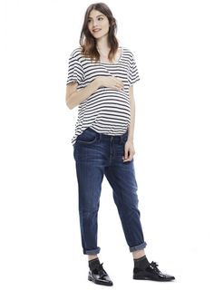 HATCH | THE NEW BOYFRIEND MATERNITY JEAN