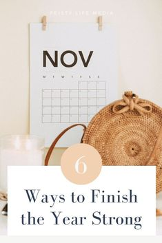 The weather is getting cooler and the days are getting darker, but that doesn't mean you need to go into hibernation mode. Instead, read these 6 ways to finish the year off strong. #goalgetter #goaldigger via @feistylifemedia