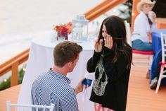 Surprise Marriage Proposal on Fourth of July