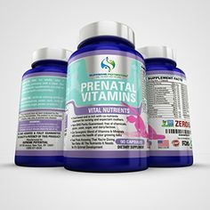 Supreme Potential Prenatal Vitamins for Pregnant Women  Contains ZERO Sugar Lactose Dairy Wheat GMOs Gluten or Yeast  90 Capsules  90 Day Supply  Manufactured in USA * Click on the image for additional details.