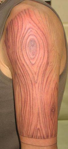 Wood grain part 2. - InkGimp Professional Tattoo Artist