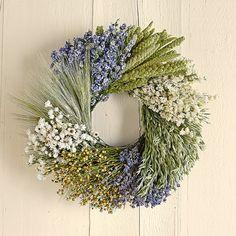 [Decor] spring/summer wreath for front door