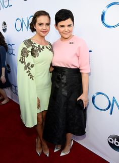 Little Snow and adult Snow! (best casting decision EVER.) Bailee Madison and Ginnifer Goodwin attend a screening of ABC's 'Once Upon A Time' Season 4 at the El Capitan Theatre on September 21, 2014 in Hollywood, California.