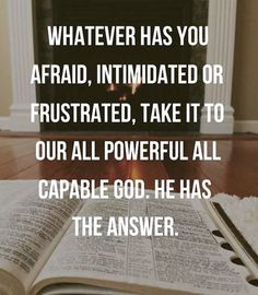 God is the answer