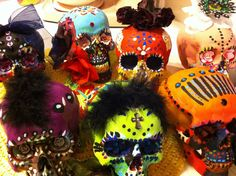 # Sixties Love and Other Things: Hippie Skulls @ First Friday, Las Vegas