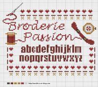 "Gallery.ru / Labadee - Альбом ""www"" Broderie Passion"