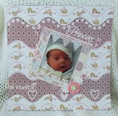 A Passion For Cards: Belle and Boo scrapbook page