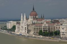 Parlament at the Danube, Budapest, Hungary