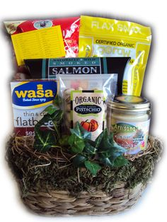 Diabetic Father's Day Healthy Gift Basket