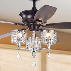 """House of Hampton Wester 52"""" 5 Blade Ceiling Fan with Remote 