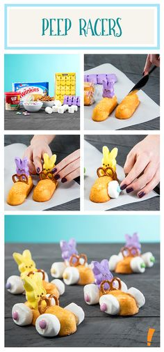 Peep Peep! These adorable little twinkie car drivers are so fun to create. We'll show you how.