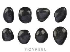 Imagen de 8 Piedras de Basalto para Masaje