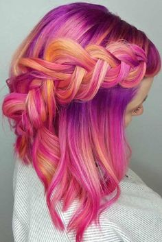 Braided Shoulder Hair for Cute Look picture 1