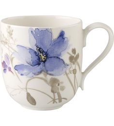 VILLEROY & BOCH - Mariefleur Gris mug | Selfridges.com