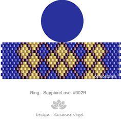 peyote ring patternPDF-Download 002R beading pattern