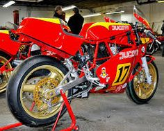 Ducati TT2 Harris frame