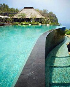 Bulgari Resort in Bali - gorge pool