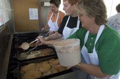 Brain sandwiches are a regional delicacy and popular item at the Evansville Fall Festival