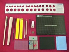 A great tool kit for making PMC rings, you can find it at http://www.goodsjapan.com