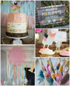 Tribal Princess Birthday Party via Kara's Party Ideas | KarasPartyIdeas.com (2)