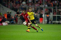 Bilder der Partie zwischen München und Dortmund.