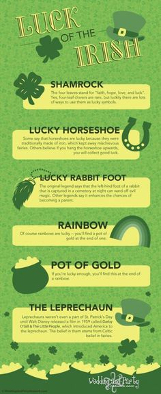 Luck of the Irish - Meanings behind lucky symbols
