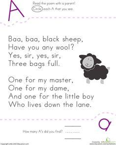 Slideshow: Nursery Rhyme ABCs