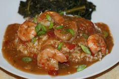 Shrimp Etouffee with Baklouti Agrumato Roux - AKA Delicious Heresy