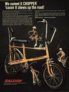 Raleigh Chopper, Boys Life, Retro Pop, My Childhood Memories, Vintage Bicycles, Boy Scouts, Print Ads, Old School, Pop Culture