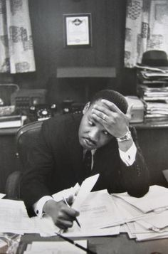 Martin Luther King, 1961 by Henri Cartier-Bresson ~Too bad that his ideals are not the same ideals of our president.