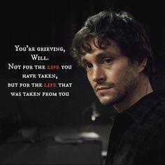 . Hannibal Quotes, Hannibal Funny, Hannibal Tv Series, Nbc Hannibal, Hannibal Lecter, Will Graham, Bryan Fuller, Unusual Words, Hugh Dancy